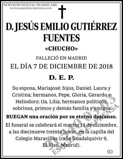 Jesús Emilio Guitérrez Fuentes